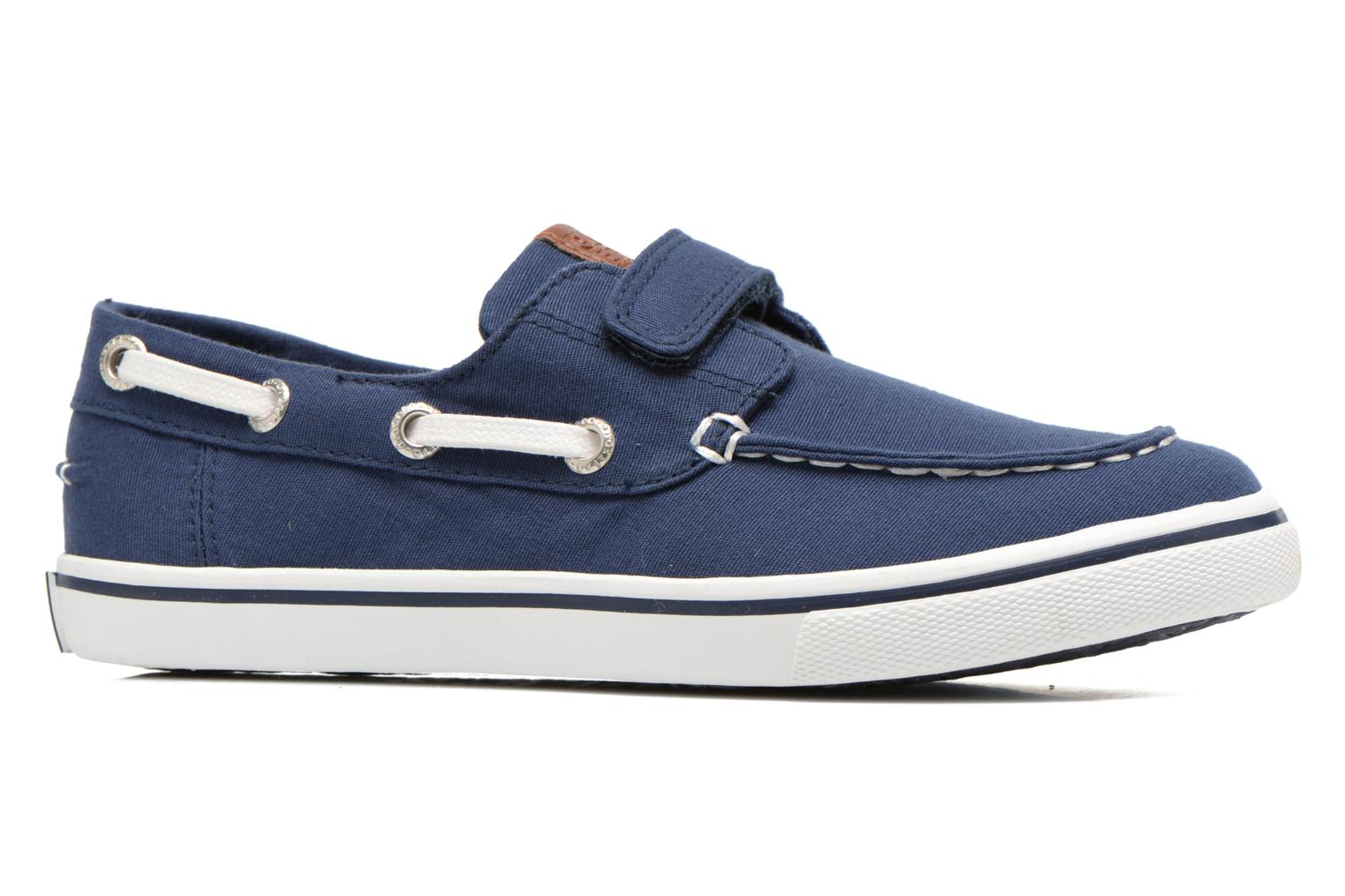 Velcro shoes Gioseppo Goliat Blue back view