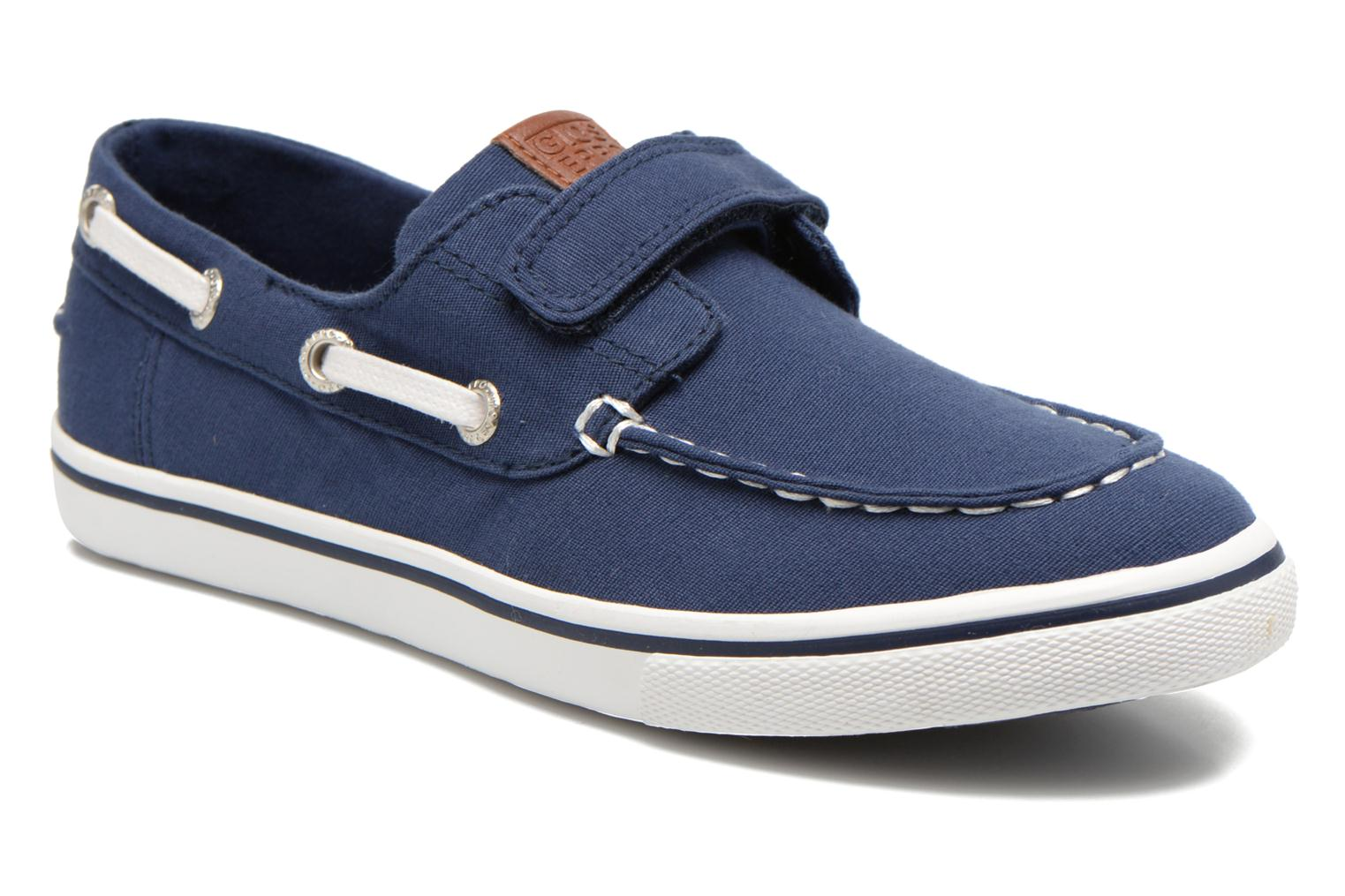 Velcro shoes Gioseppo Goliat Blue detailed view/ Pair view