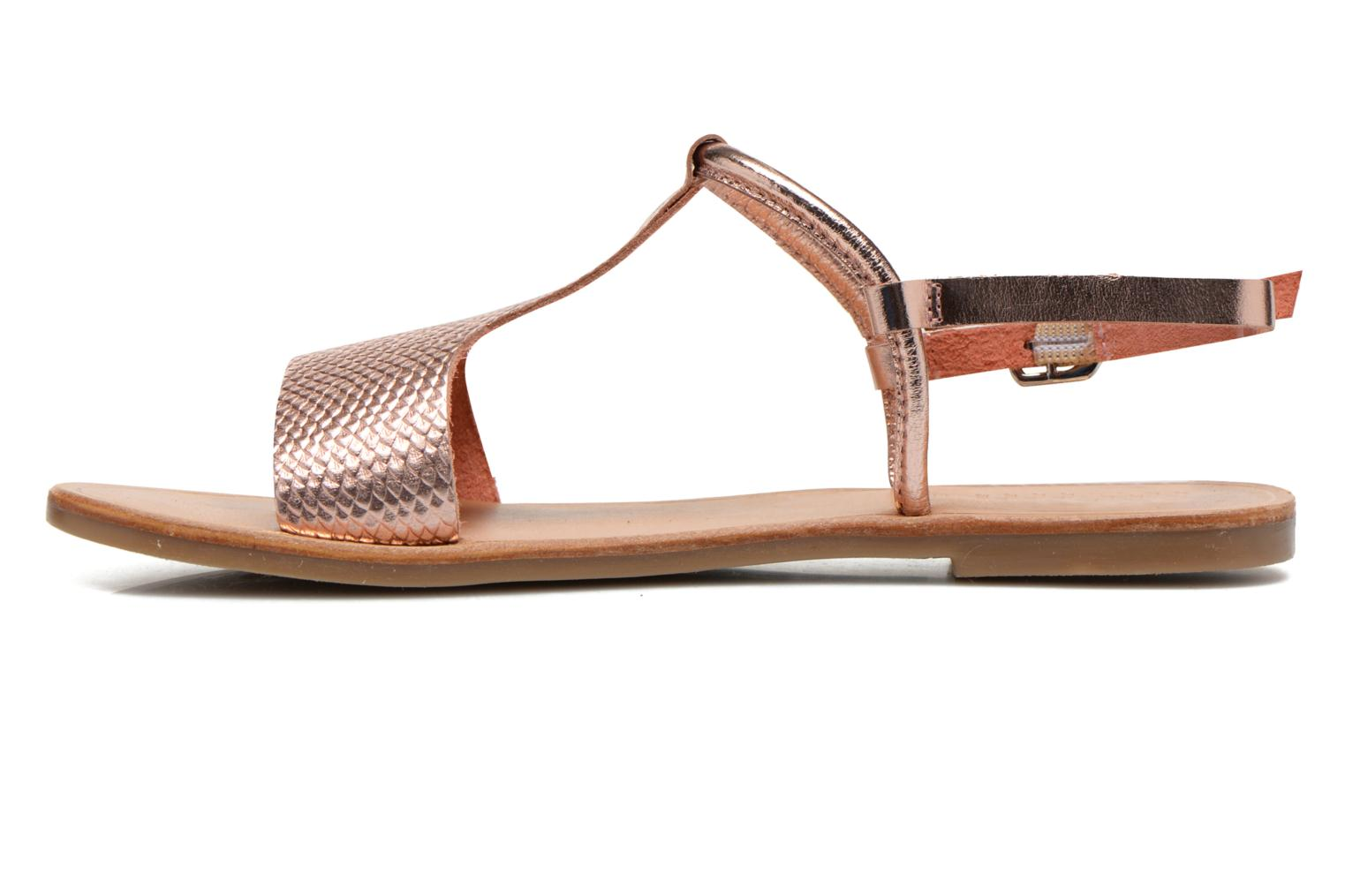 Sandals Gioseppo Bavana Pink front view