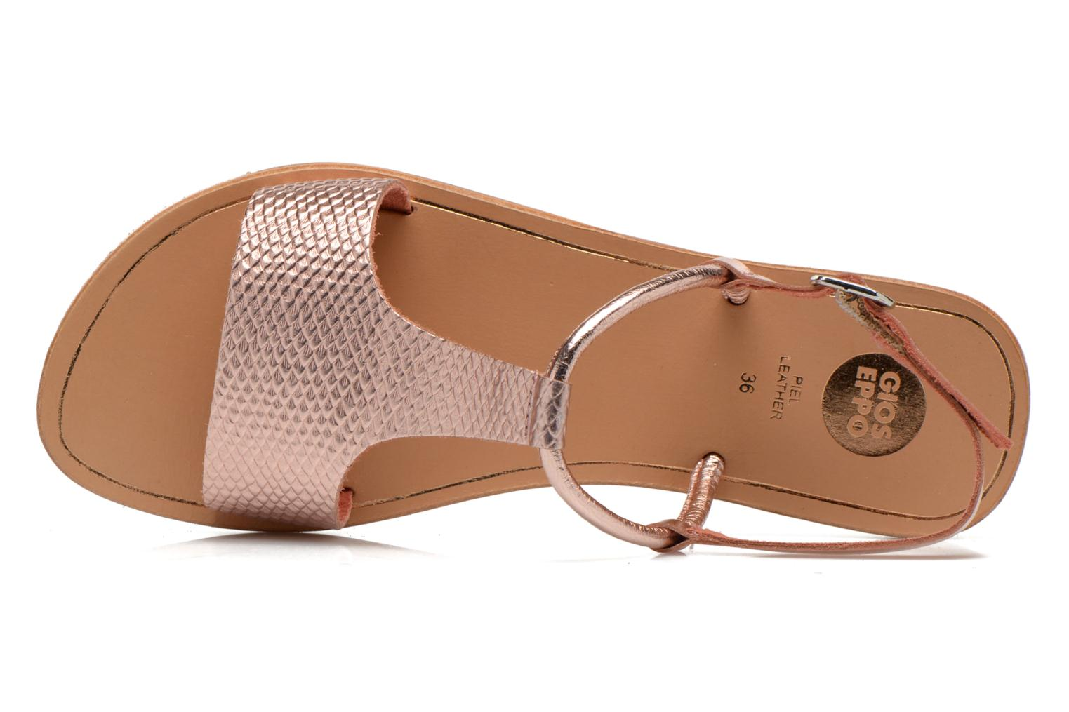 Sandals Gioseppo Bavana Pink view from the left