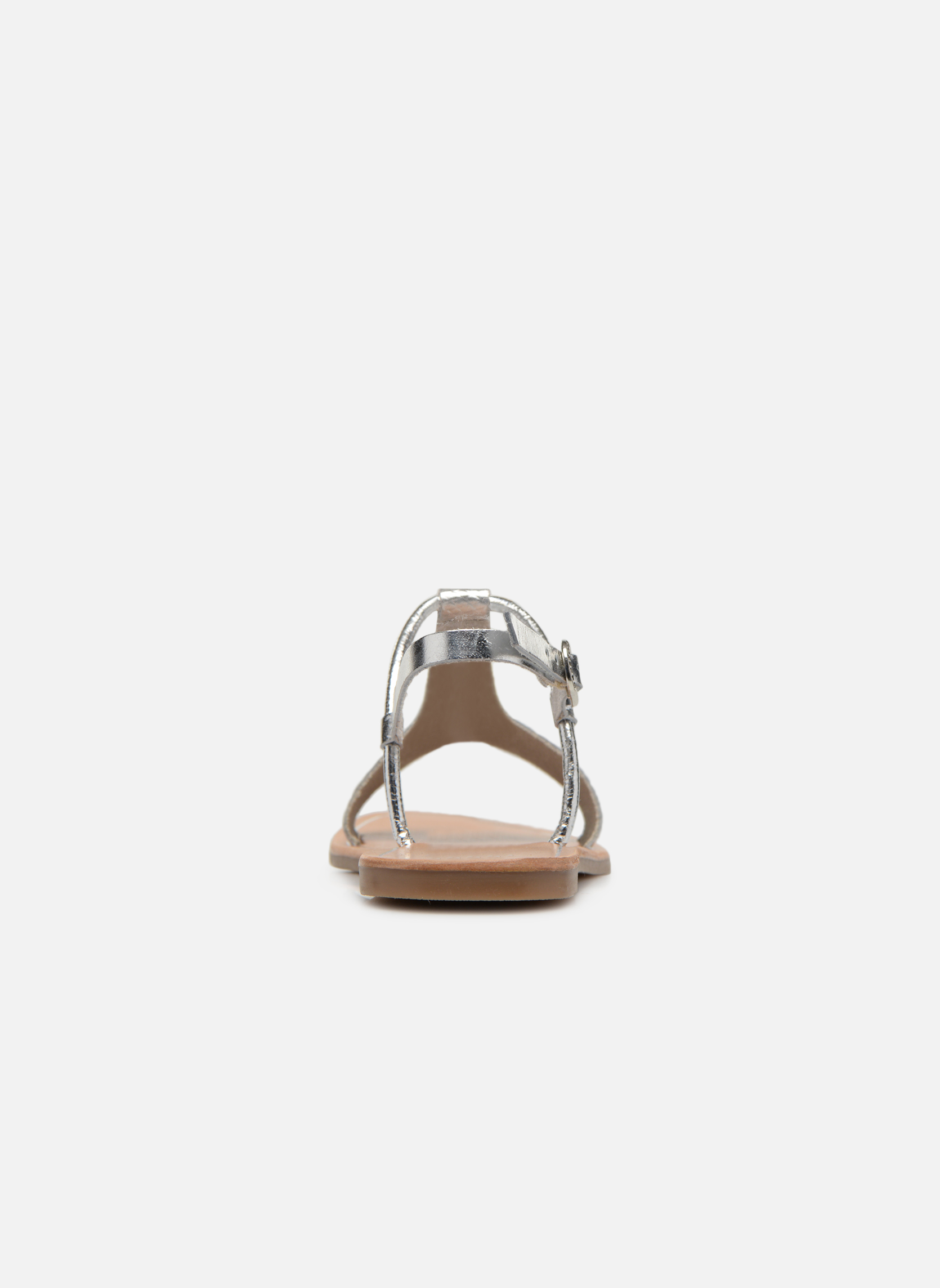 Sandals Gioseppo Bavana Silver view from the right