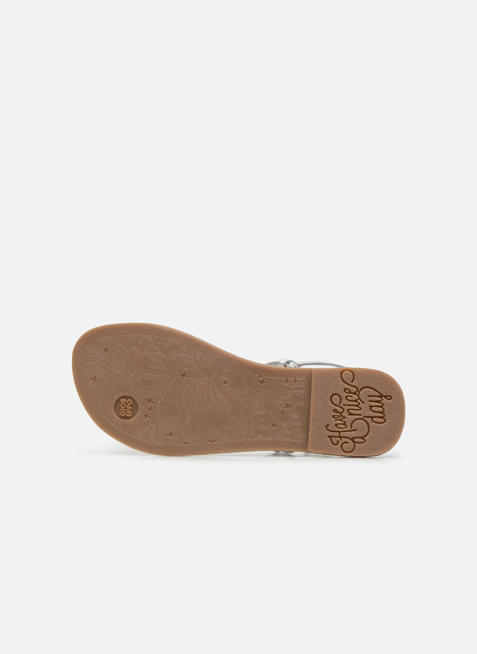 Sandali e scarpe aperte Gioseppo Bavana Argento immagine dall'alto