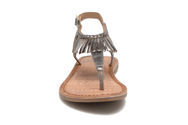 Sandales et nu-pieds Gioseppo Lea Argent vue portées chaussures