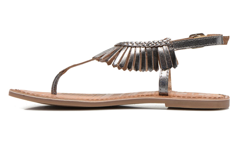 Sandales et nu-pieds Gioseppo Lea Argent vue face
