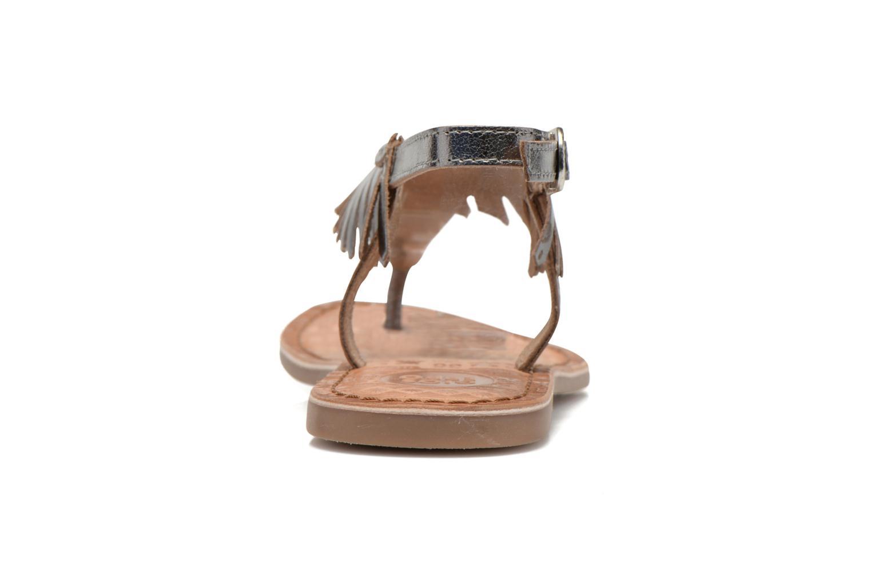 Sandales et nu-pieds Gioseppo Lea Argent vue droite