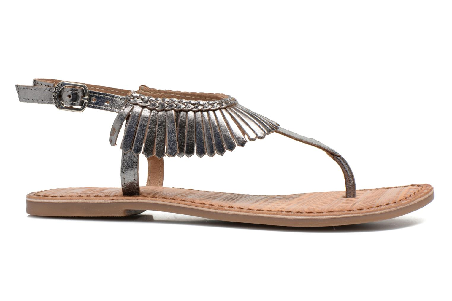 Sandals Gioseppo Lea Silver back view