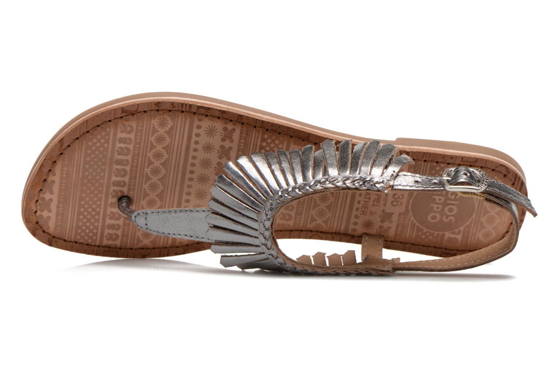 Sandales et nu-pieds Gioseppo Lea Argent vue gauche