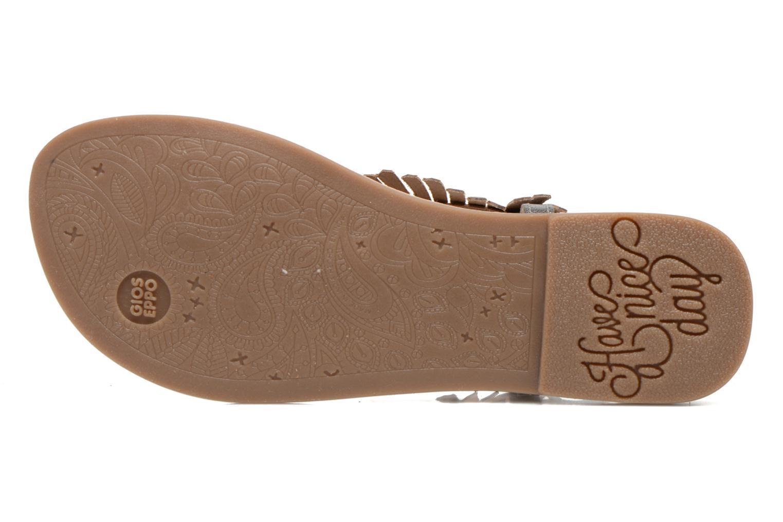 Sandales et nu-pieds Gioseppo Lea Argent vue haut