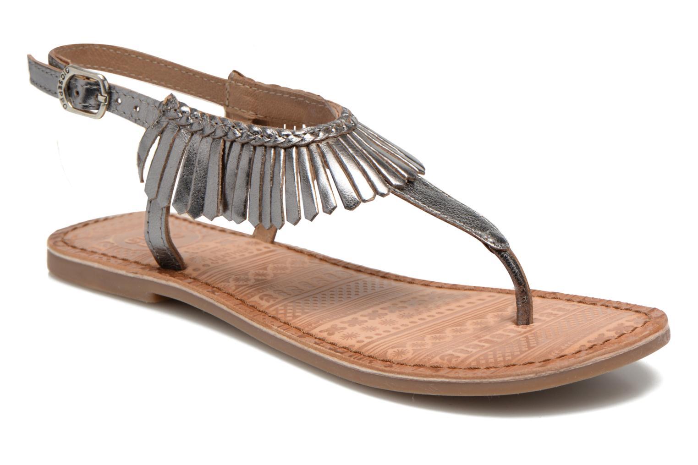 Sandales et nu-pieds Gioseppo Lea Argent vue détail/paire