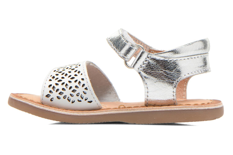Sandali e scarpe aperte Gioseppo Carla Bianco immagine frontale