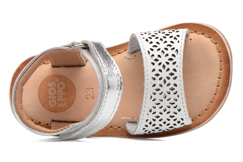 Sandali e scarpe aperte Gioseppo Carla Bianco immagine sinistra