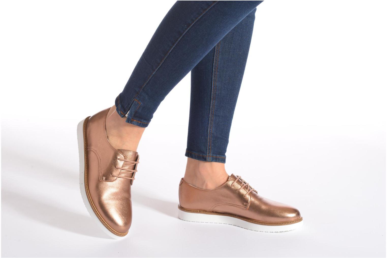 Chaussures à lacets Ippon Vintage James metal Bleu vue bas / vue portée sac