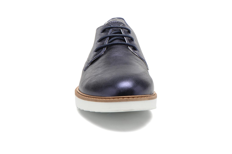 Chaussures à lacets Ippon Vintage James metal Bleu vue portées chaussures