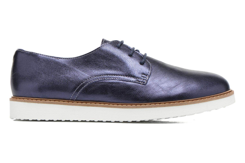 Chaussures à lacets Ippon Vintage James metal Bleu vue derrière