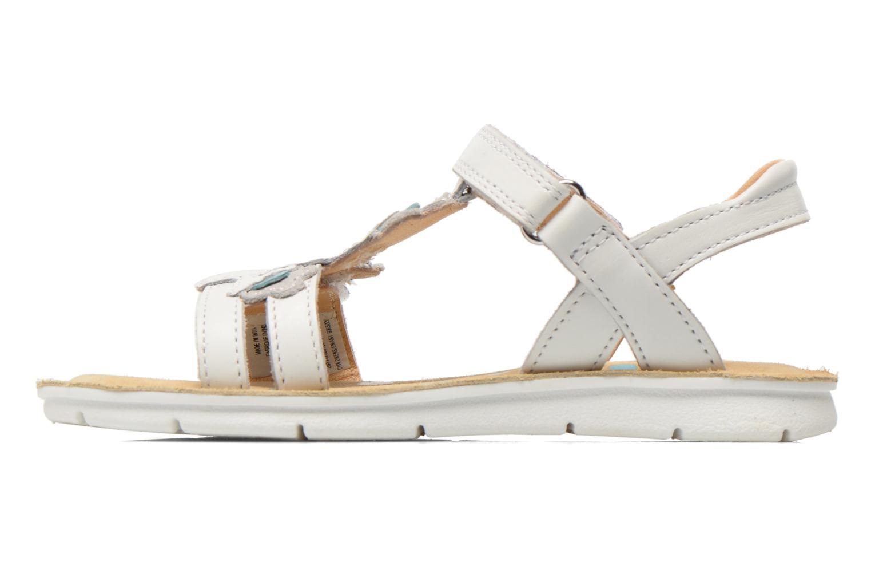 MimoGracie White leather
