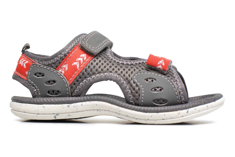 Sandales et nu-pieds Clarks PiranhaBoy Fst Gris vue derrière