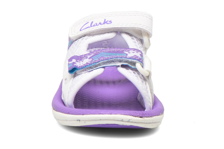 Sandalen Clarks Star Games Fst weiß schuhe getragen