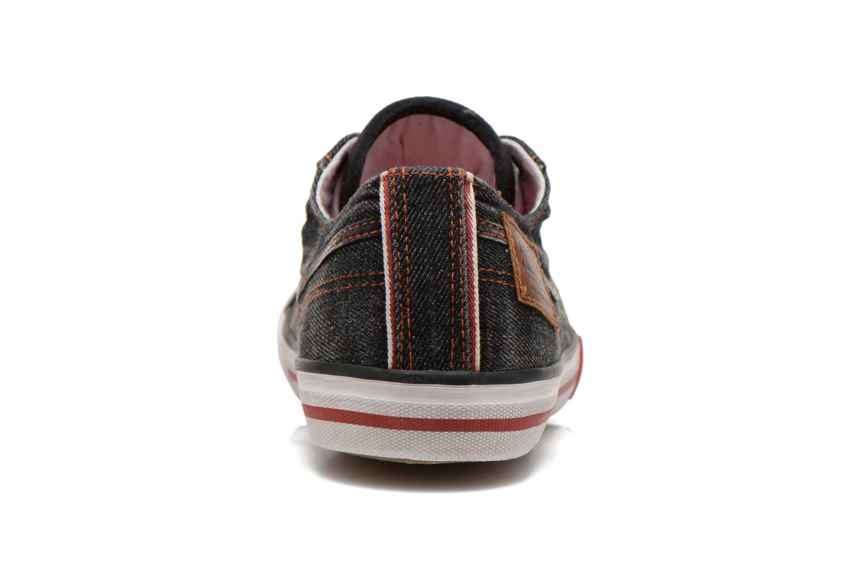 Baskets Kaporal Icare Noir vue droite
