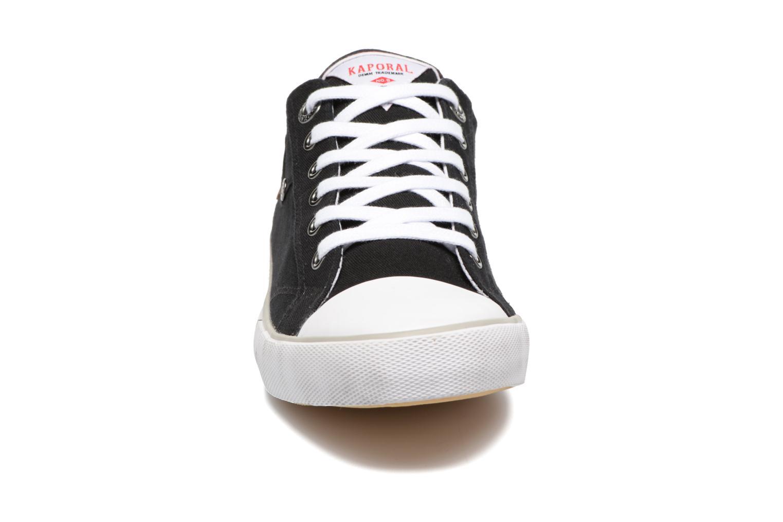 Baskets Kaporal Icare Noir vue portées chaussures