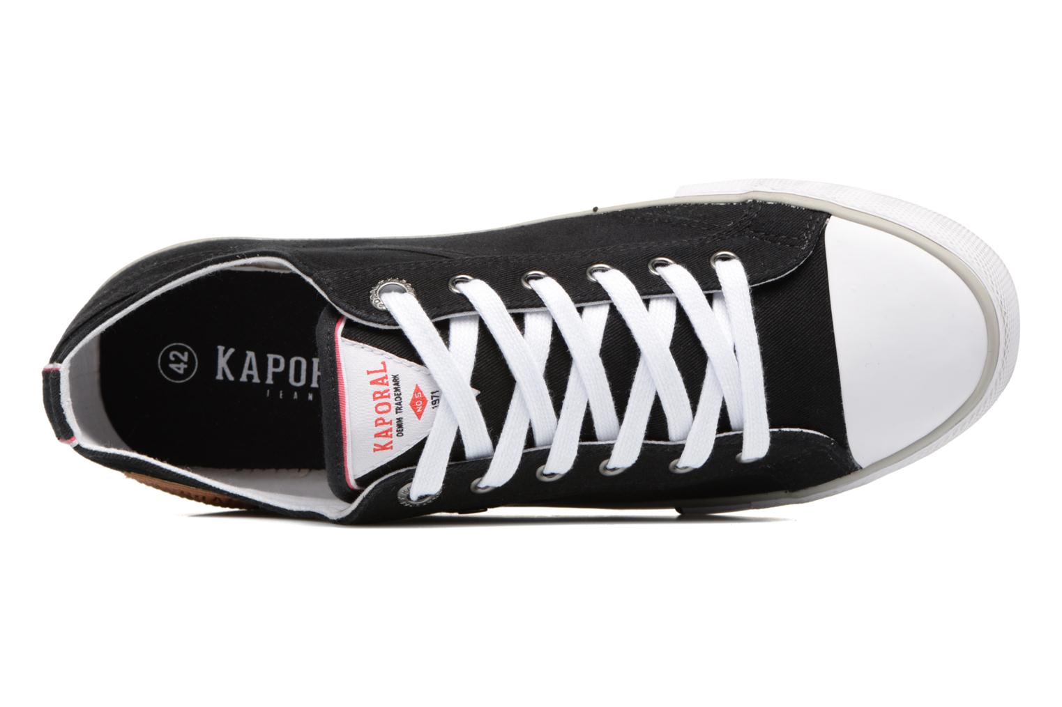 Trainers Kaporal Icare Black view from the left