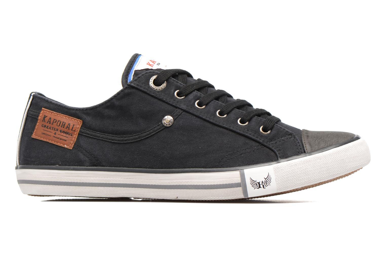 Sneakers Kaporal Icare Zwart achterkant