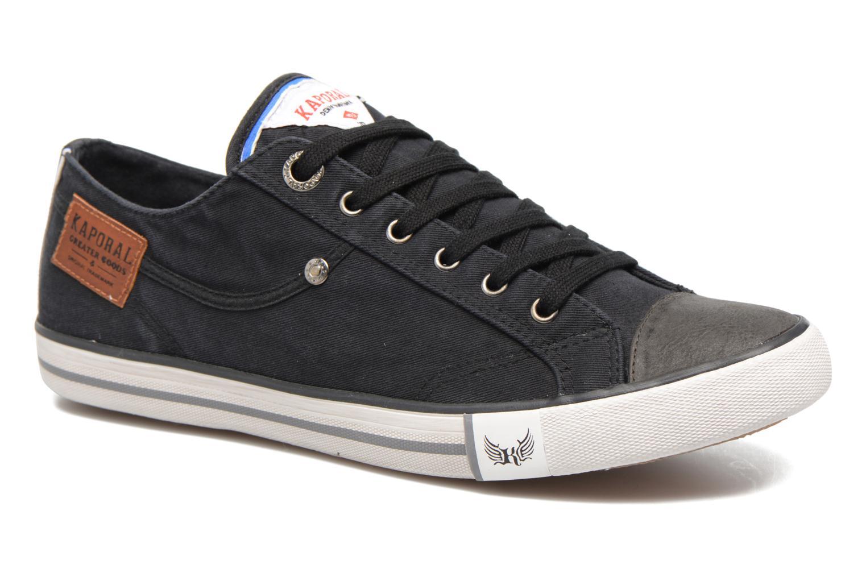 Sneakers Kaporal Icare Zwart detail