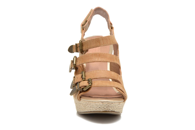 Sandalen Kaporal Rock braun schuhe getragen