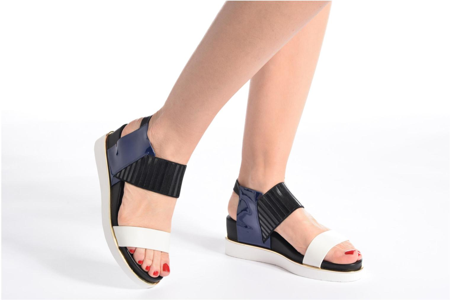 Rico Sandal Navy Mix