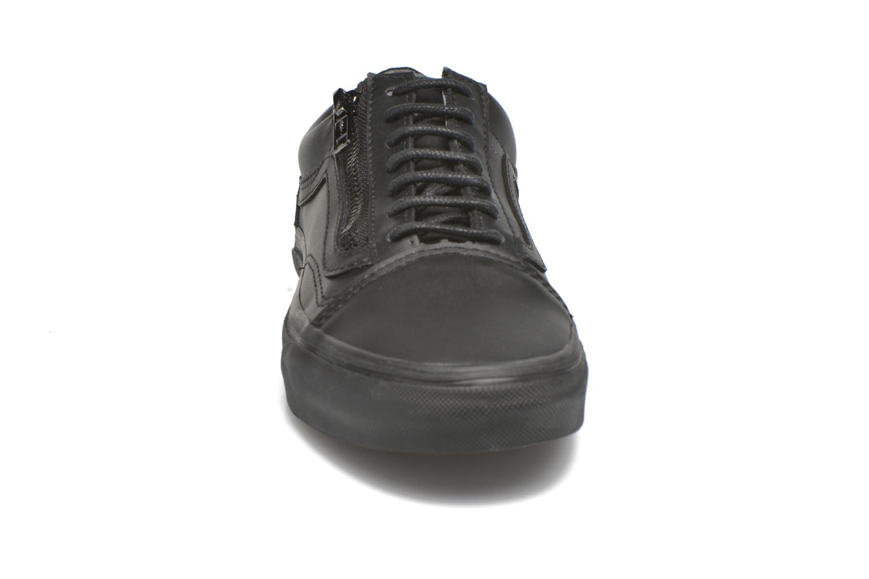 Baskets Vans Old Skool Zip Noir vue portées chaussures