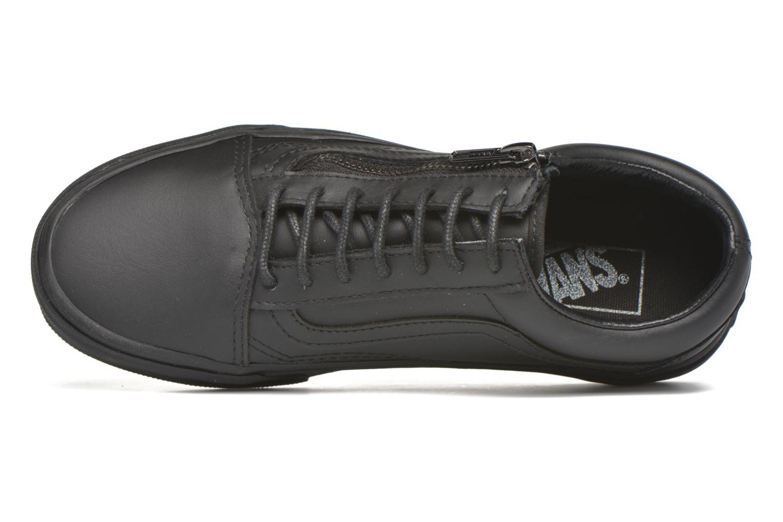 Baskets Vans Old Skool Zip Noir vue gauche