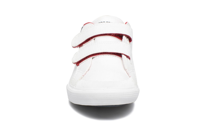 Baskets Le Coq Sportif Saint Gaetan PS Blanc vue portées chaussures