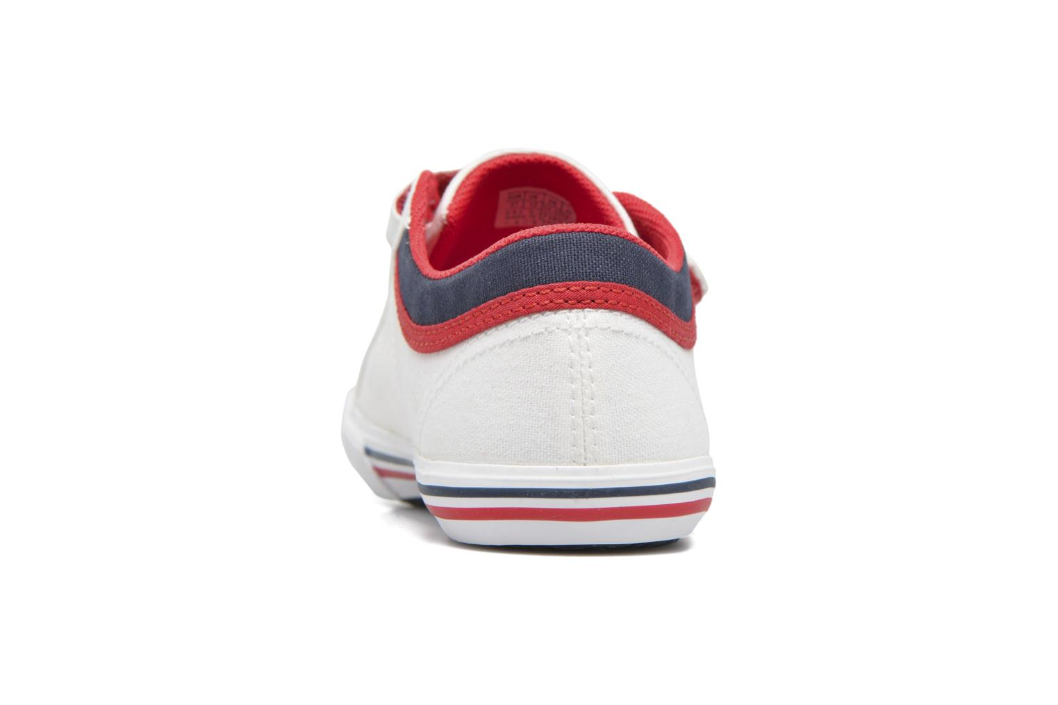 Trainers Le Coq Sportif Saint Gaetan PS White view from above