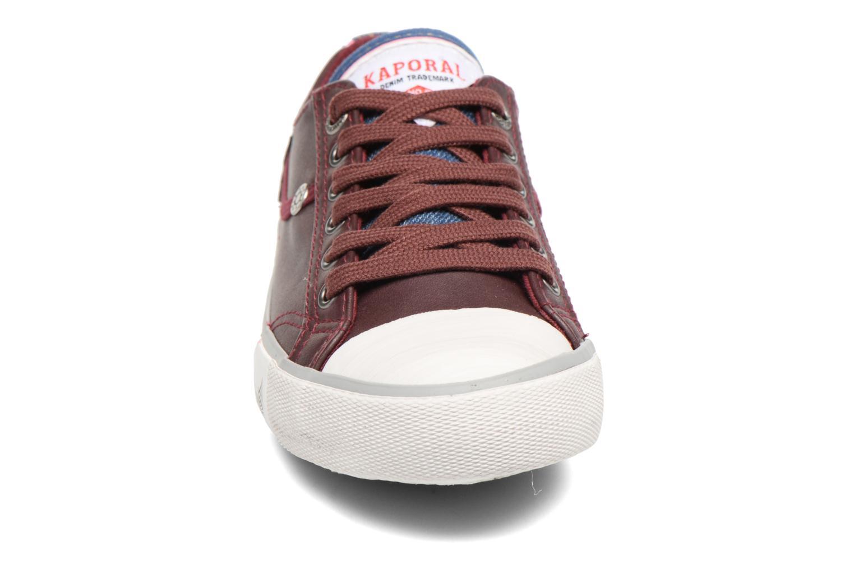 Sneaker Kaporal Icario weinrot schuhe getragen