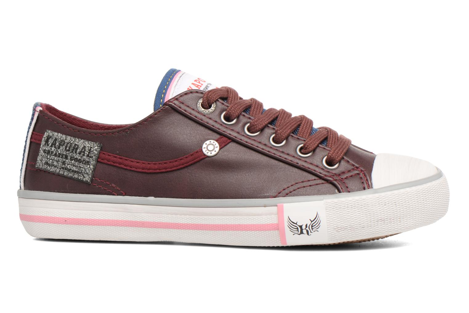 Trainers Kaporal Icario Burgundy back view