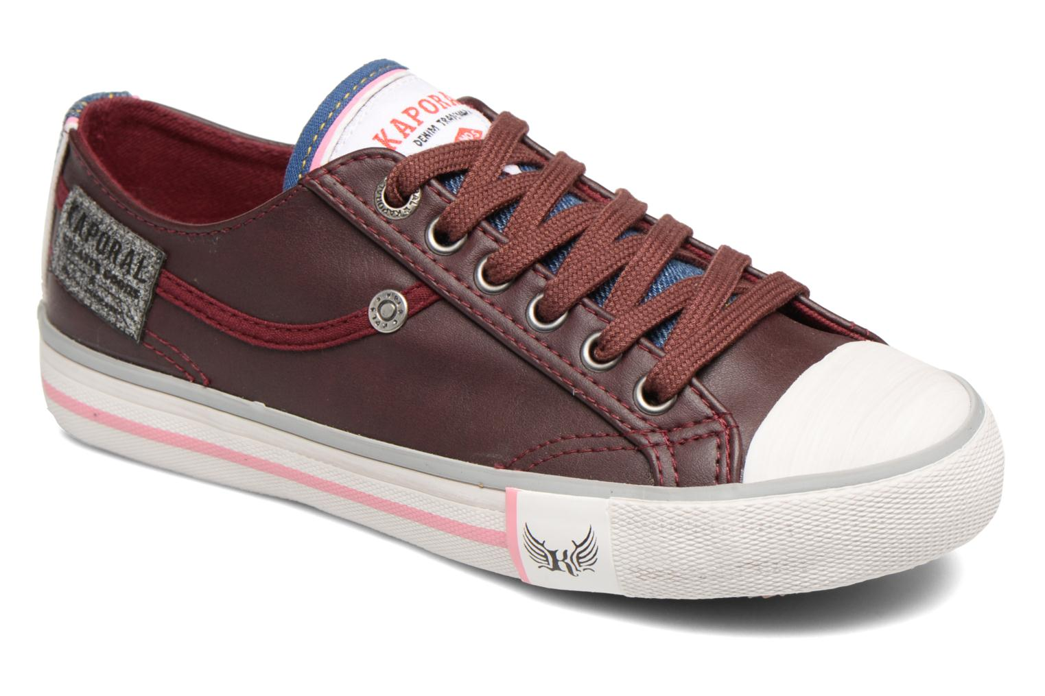 Trainers Kaporal Icario Burgundy detailed view/ Pair view