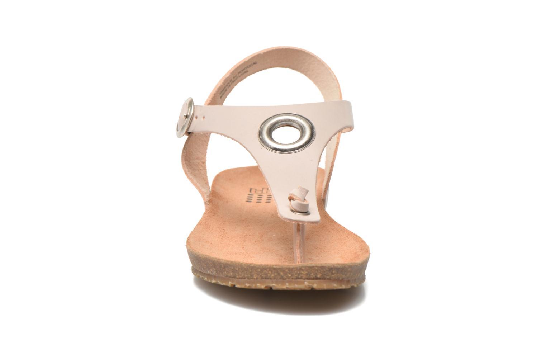 Sandalen TBS Inayah beige schuhe getragen