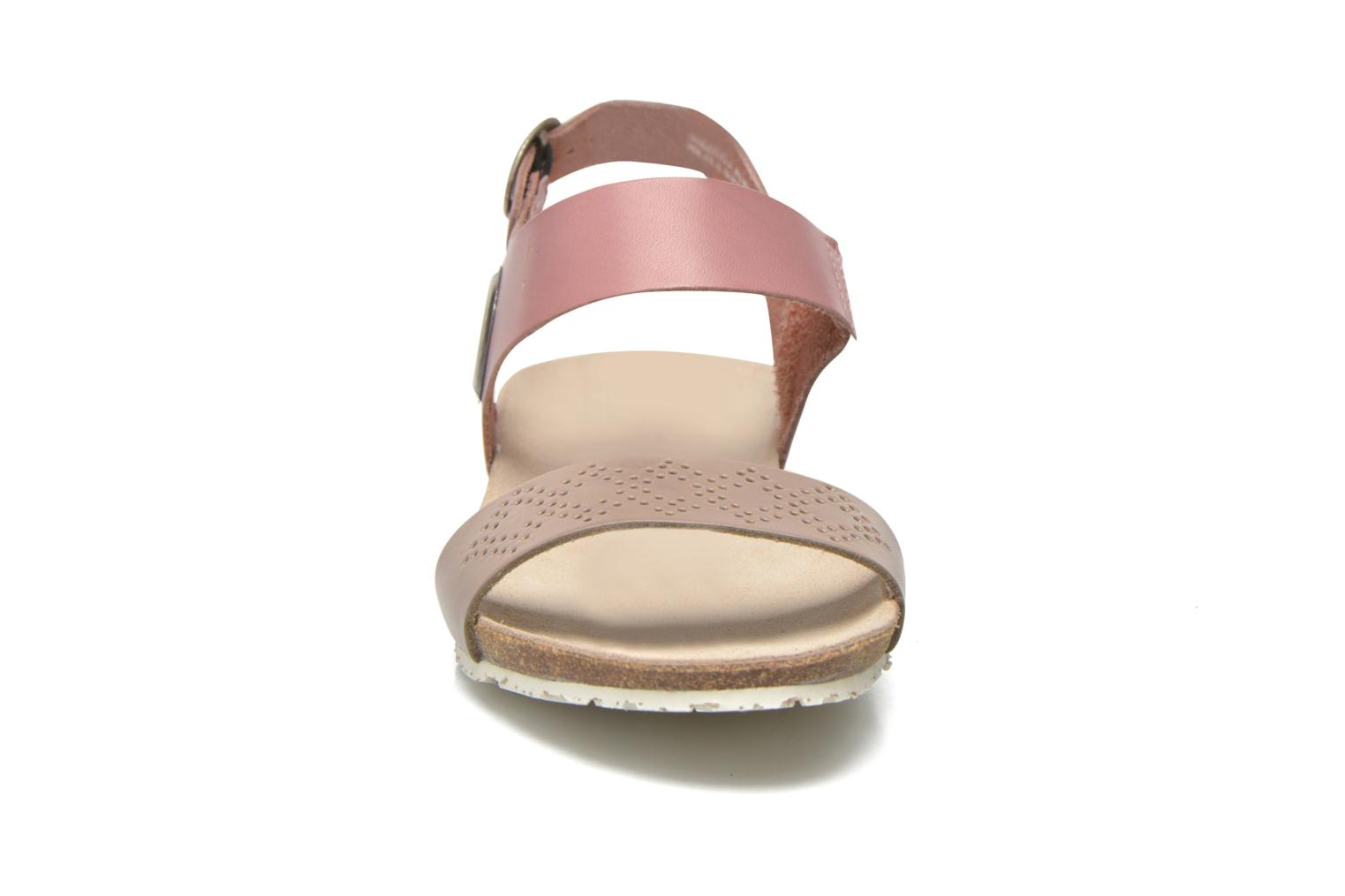 Sandals TBS Isabel Brown model view