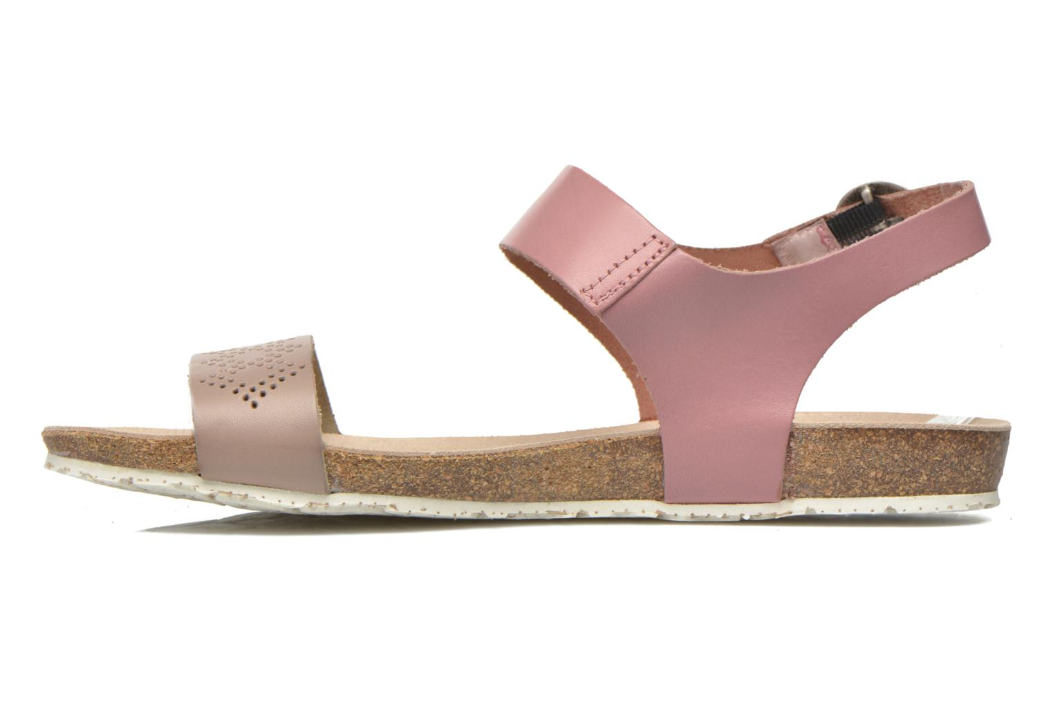 Sandals TBS Isabel Brown front view