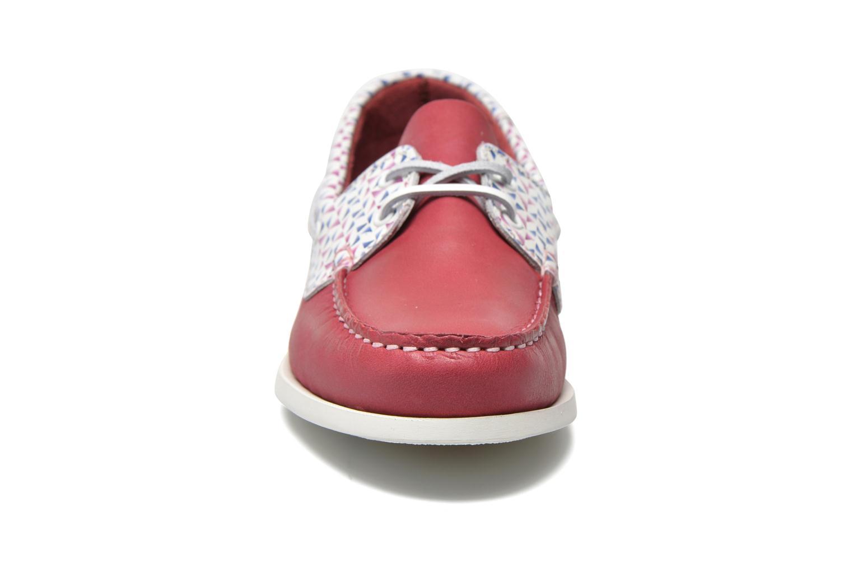 Zapatos con cordones TBS Pietra Rojo vista del modelo