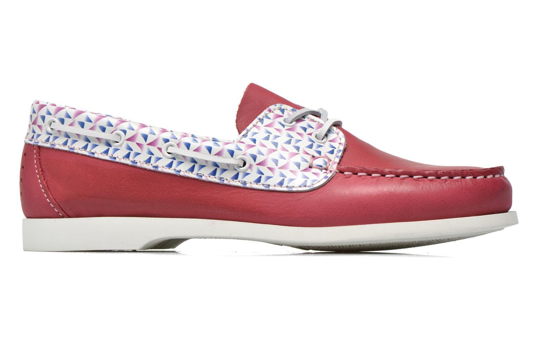 Zapatos con cordones TBS Pietra Rojo vistra trasera