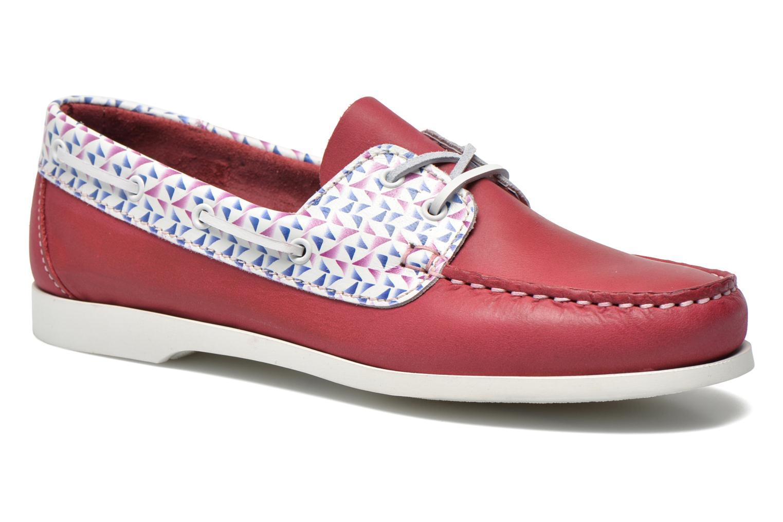 Zapatos con cordones TBS Pietra Rojo vista de detalle / par