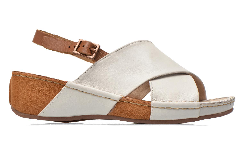 Sandales et nu-pieds TBS Valina Blanc vue derrière