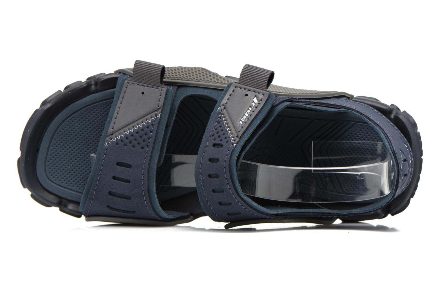 Sandals Rider Tender VIII Blue view from the left
