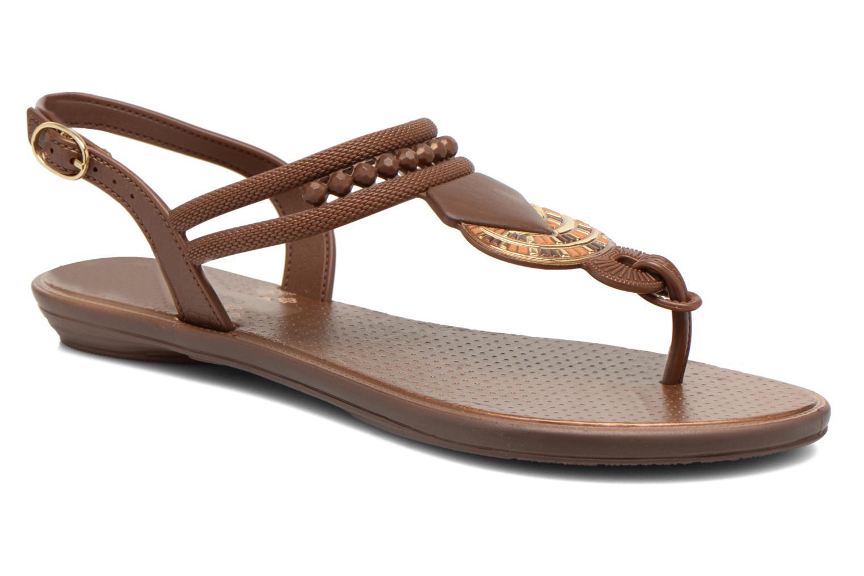 Sandales et nu-pieds Grendha Tribal Sandal Fem Marron vue détail/paire