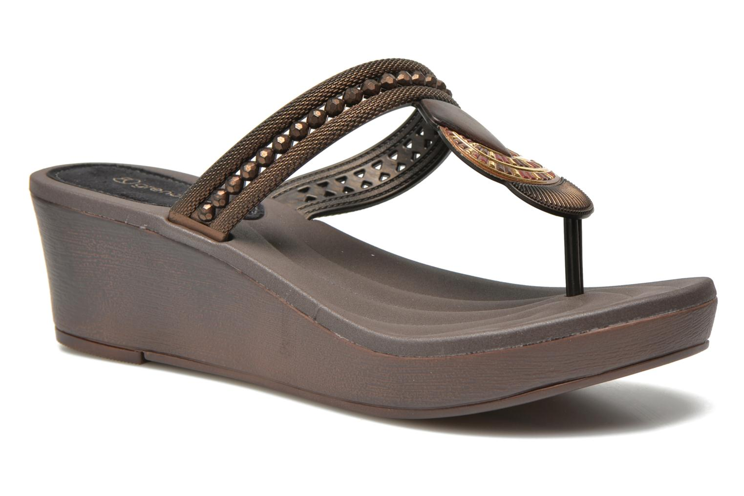 Tribal Plat Fem Brown/black