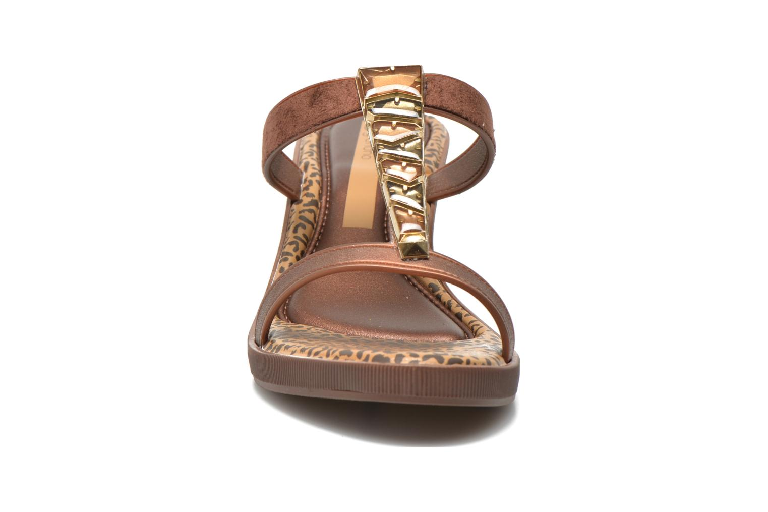 Mules & clogs Grendha Jewel Plat Brown model view