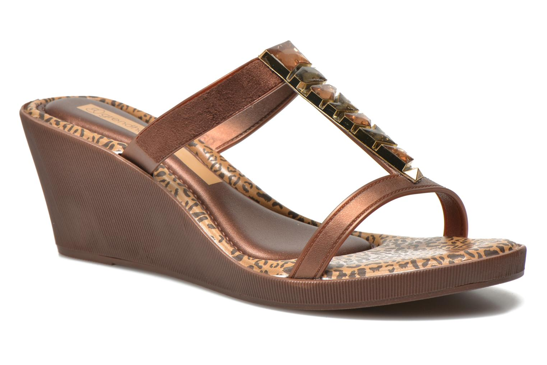 Marques Chaussure femme Grendha femme Jewel Plat Brown/Bronze
