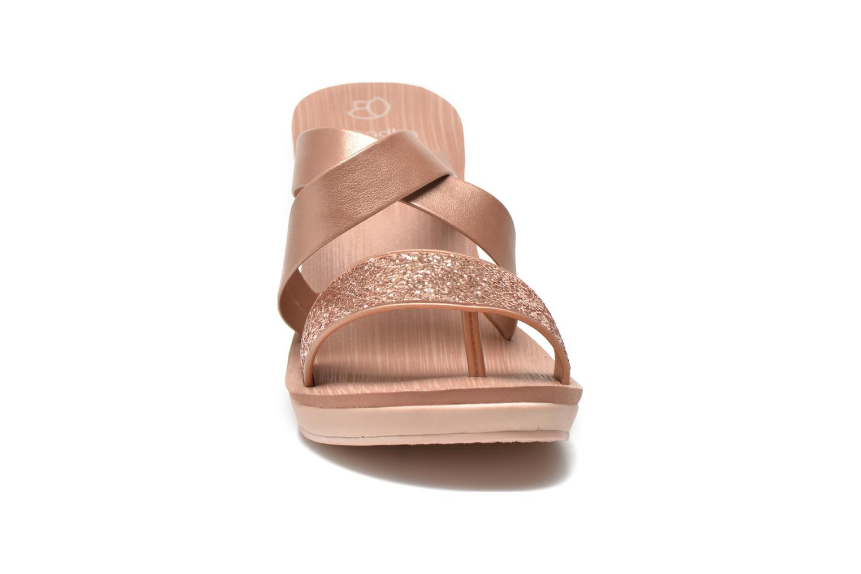 Mules et sabots Grendha Paradisio II Plat Or et bronze vue portées chaussures