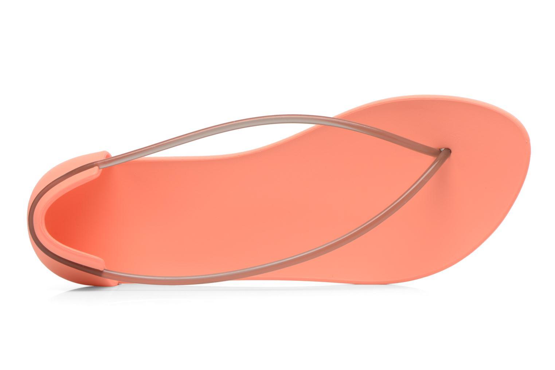 Sandales et nu-pieds Ipanema Philippe Starck Thing N Fem Orange vue gauche