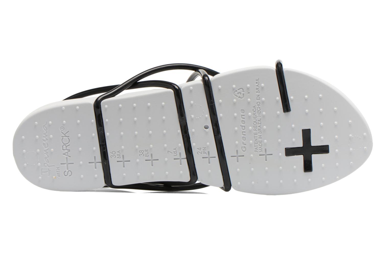 Sandales et nu-pieds Ipanema Philippe Starck Thing G Fem Blanc vue haut